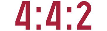 4:4:2